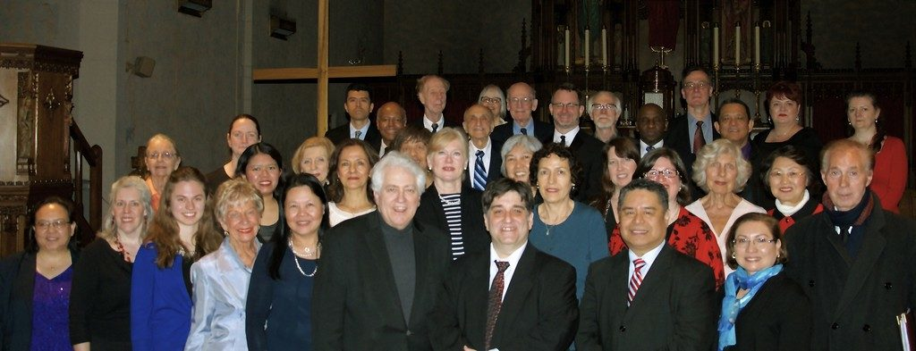 Members of the OLQM Choir