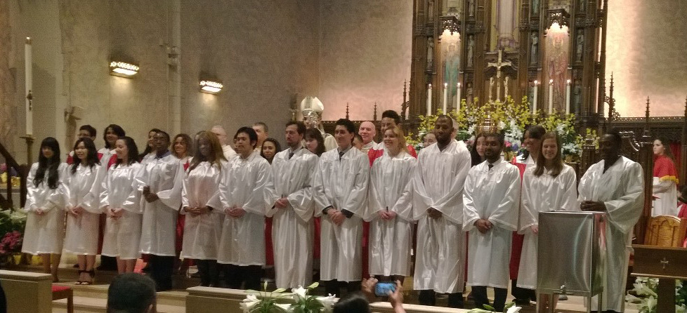 Holy Thursday 2014 candidates