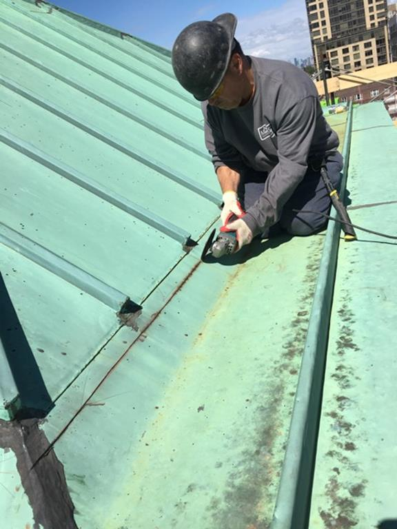 Our Lady Queen Of Martyrs Bell Tower Roof Repairs Completed