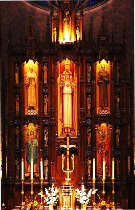 Main Altar color