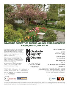 OSQ Spring 2016 Concert - flyer