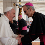 PopeFrancis with Bishop PRS