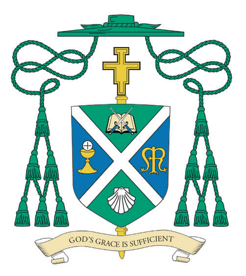 Personal Coat of Arms, Bishop Paul R. Sanchez